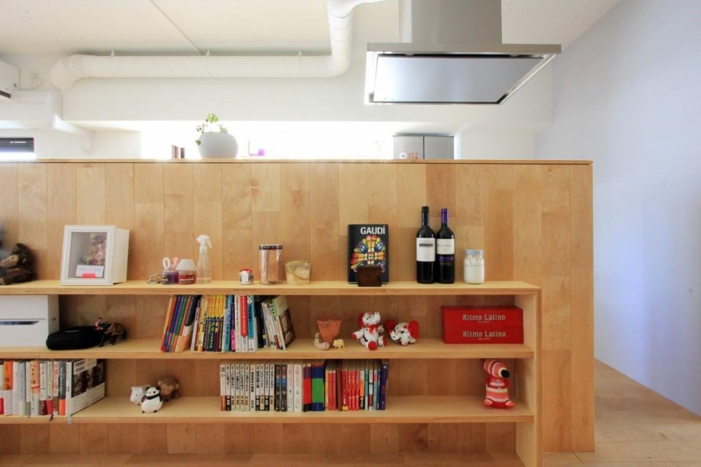 低層好きの本棚