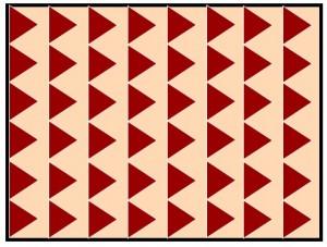 フローリング幅や張り方パターン:幾何学柄
